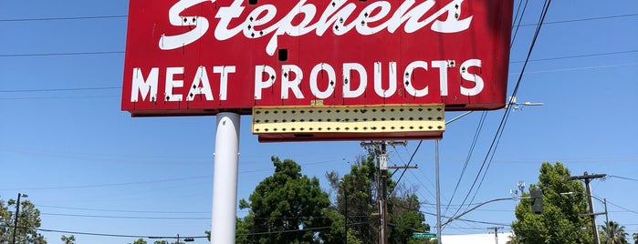 Stephen's Meat Products Parking Lot - San Jose Diridon Station is one of Northern CALIFORNIA: Vintage Signs.