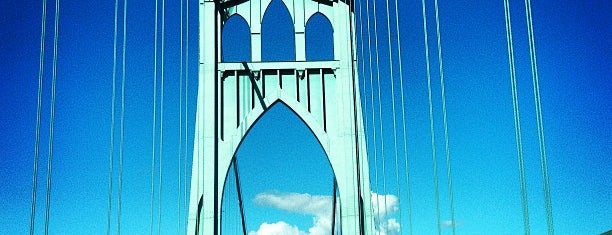 St. Johns Bridge is one of Portland.