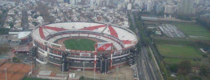 """Estadio Antonio Vespucio Liberti """"Monumental"""" (Club Atlético River Plate) is one of BsAs."""