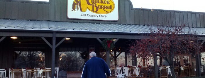 Cracker Barrel Old Country Store is one of places we like.