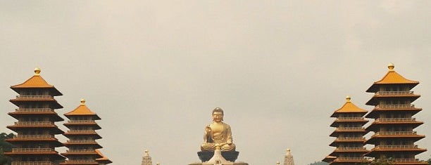 佛光山佛陀紀念館 Buddha Memorial FGS is one of Jas' favorite urban sites.
