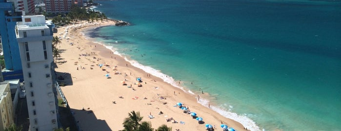 San Juan Marriott Beach is one of Posti che sono piaciuti a Ashley.
