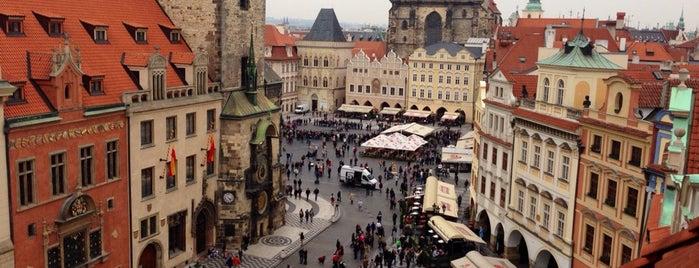 Terasa U Prince is one of Nejlepší výhledy v Praze.