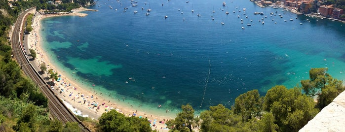 Plage de Villefranche is one of Nice.