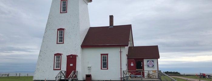 Wood Islands Lighthouse is one of Lieux qui ont plu à Aylin.