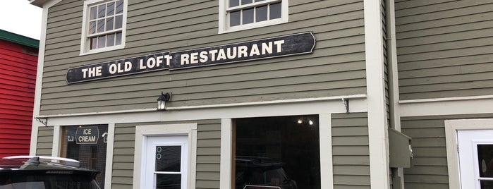 The Old Loft Restaurant is one of Newfoundland.