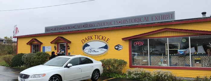 The Dark Tickle Shoppe is one of O Canada!.
