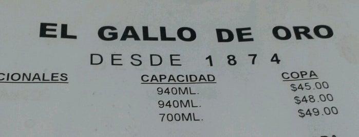 El Gallo de Oro is one of 50 lugares para comer rico (por menos de $150).