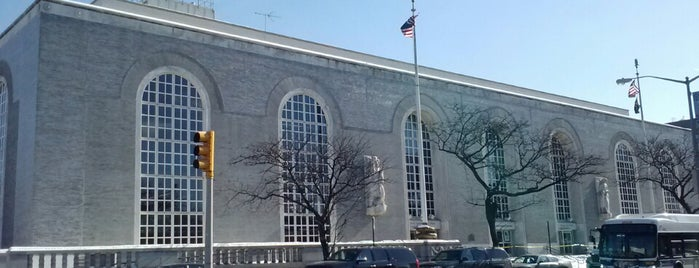 US Post Office is one of Bronx Museum Spots.