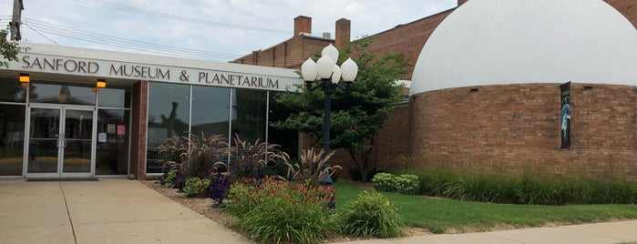 Sanford Museum and Planetarium is one of Iowa.