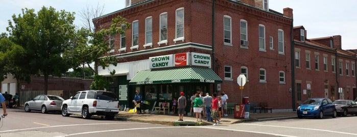Crown Candy Kitchen is one of St. louis 2018.