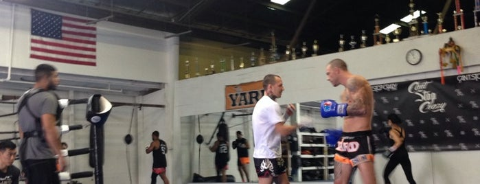 The Yard Muay Thai Kickboxing is one of Los Angeles.