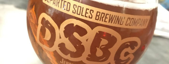 Departed Soles Brewing Co. is one of Jersey city.