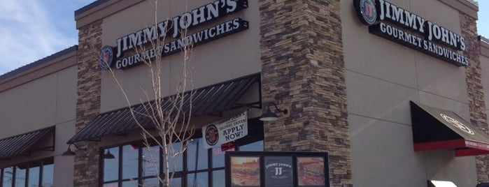 Jimmy John's is one of Dan's Liked Places.