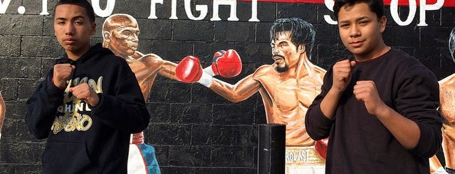 Pro fight shop is one of LosAngeles.