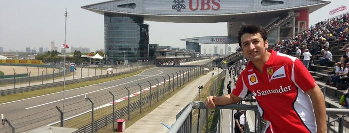 Shanghai International Circuit is one of outsiders....