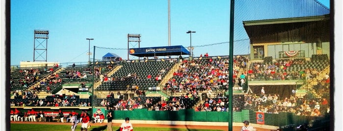 New Britain Stadium is one of Minor League Ballparks.