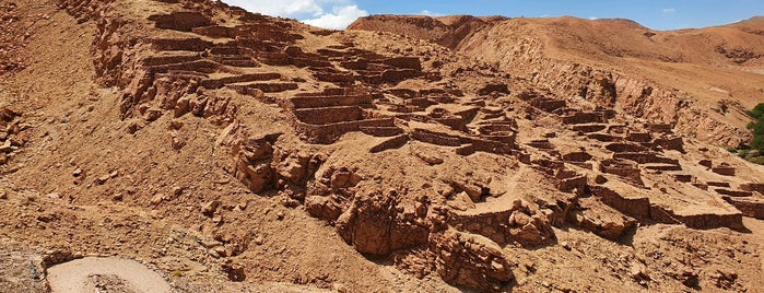 Pukara de quitor is one of Atacama.
