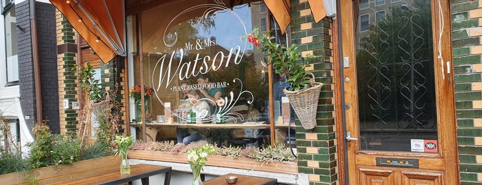 Mr. & Mrs. Watson is one of Vegetarian.