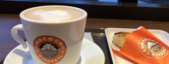 St. Marc Café is one of Locais curtidos por Masahiro.