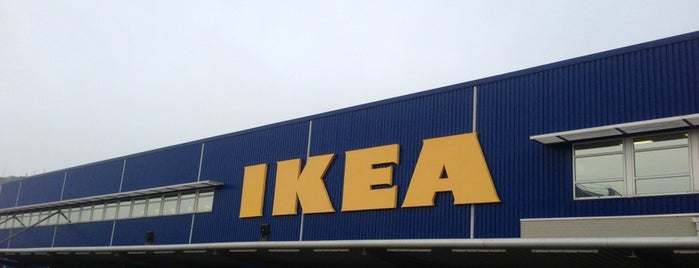 IKEA is one of Lieux qui ont plu à Yanina.