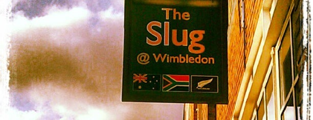 The Slug is one of London bar,pub,restaurants.