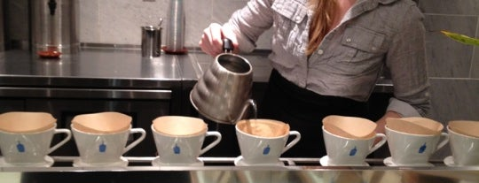 Blue Bottle Coffee is one of nyc list.
