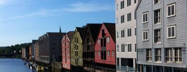 Bakke bru is one of Trondheim.