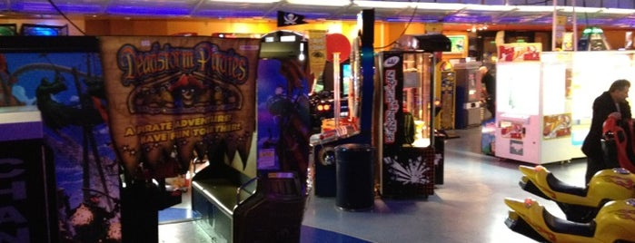 Namco Funscape County Hall is one of Best Video Arcades.