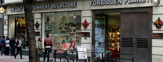Forbidden Planet is one of Nerd Places.