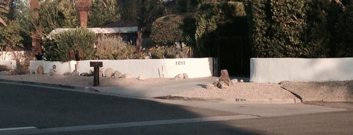 Bing Crosby's house is one of Vacation time in the desert.