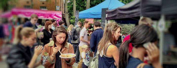Brockley Market is one of Lieux sauvegardés par Bigmac.