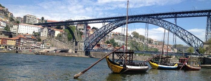 Cais da Ribeira is one of Porto.