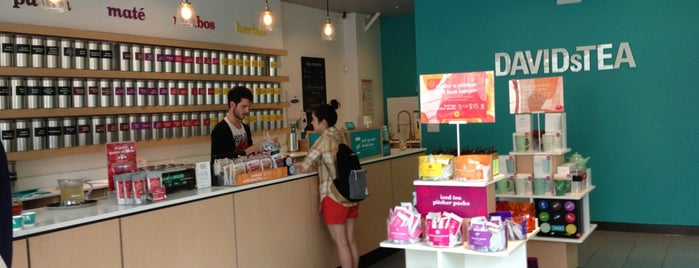 DAVIDsTEA is one of Tea in NYC.