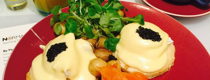 Norma's is one of America's 50 Best Eggs Benedict Dishes.