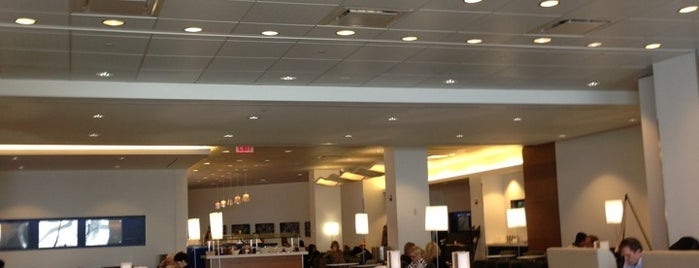 Delta Sky Club is one of Airports.