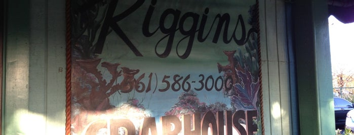 Riggins Crabhouse is one of Want to Try Out.