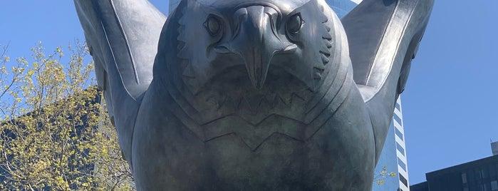 East Coast World War II Memorial is one of Big Apple (NY, United States).