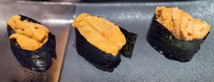 Sushi Nakazawa is one of 25 Top Sushi Spots in the U.S..