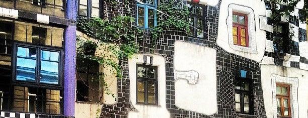 KUNST HAUS WIEN. Museum Hundertwasser is one of Wien.