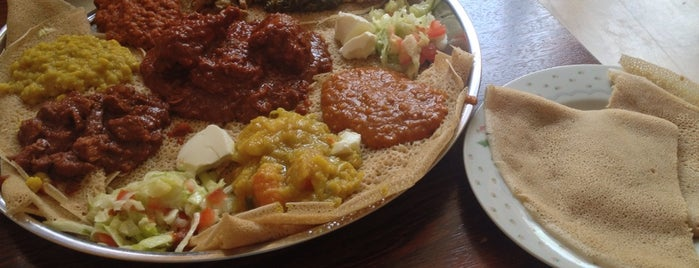 Ma'ed Ethiopian Restaurant is one of Lieux qui ont plu à Irina.