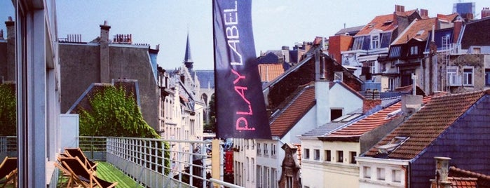 Play Label Rooftop is one of Lieux sauvegardés par Olina.