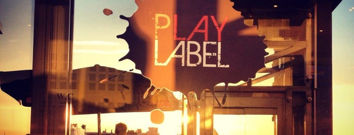 Play Label Rooftop is one of BRUXELLES.