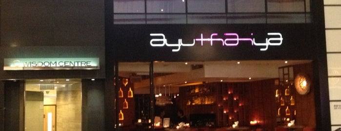 Ayuthaiya is one of Hong Kong.