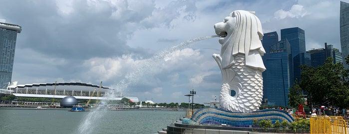 Merlion Park is one of Singapur, SIN.