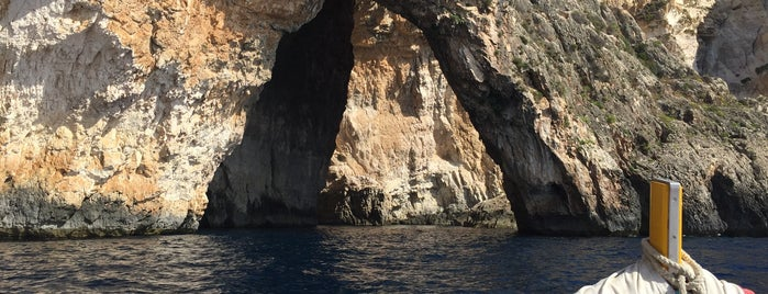 Blue Grotto is one of Malta.