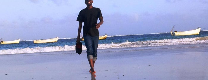 Liido Beach is one of Africa.