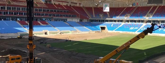 Trabzonspor Akyazı Spor ve Kültür Kompleksi Şantiyesi is one of Lugares favoritos de Hakan.