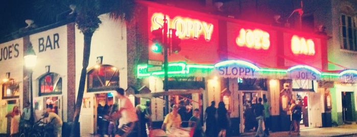 Sloppy Joe's Bar is one of Key West.
