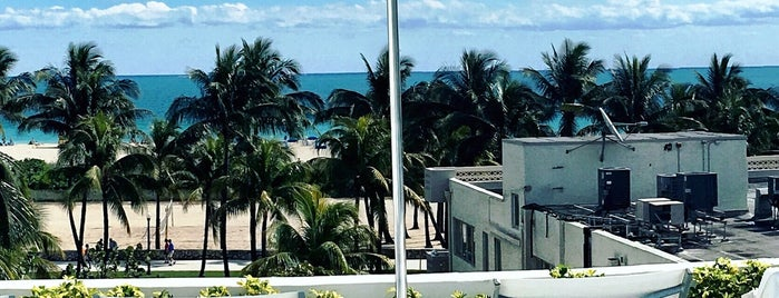 The Hotel of South Beach Miami is one of Lieux qui ont plu à Nicole.